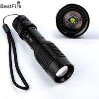 AIMIHUO torcia flashlight LED CREE XM-L T6 in lega di alluminio zoom in e out della luce cosmos padrone della stella del proiettore LED torcia elettrica