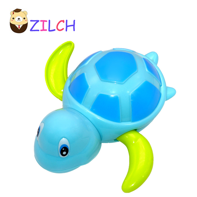 Zilch Baby Kids toys Bath Swimming Animal Toy Fun Shower Crocodile Wind Up Clockwork Play Baby Pool & Accessories for Children baby toys