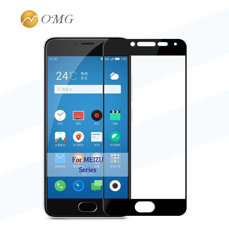 OMG Screen Protector For MEIZU M3S M3 Tempered Glass for Meilan M 3 s 9H full cover Protective glass Film case