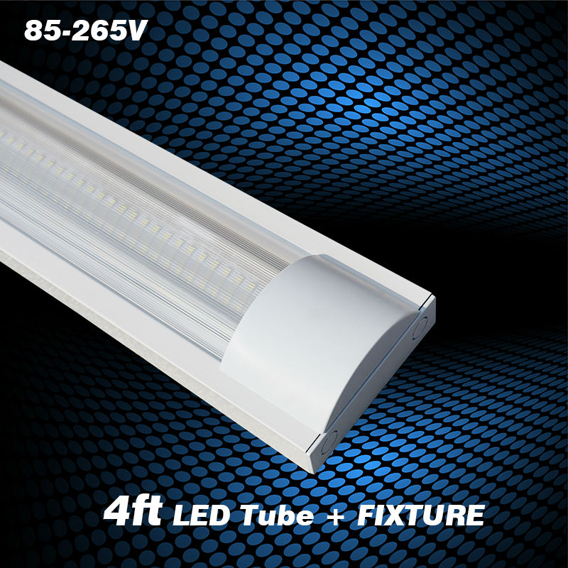 4ft 20w Explosion Proof Led Tube Lights Stripe Cover