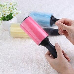 Image 5 - Rouleau de collage de charpie de nettoyeur de poussière de rouleau lavable réutilisable pour des vêtements