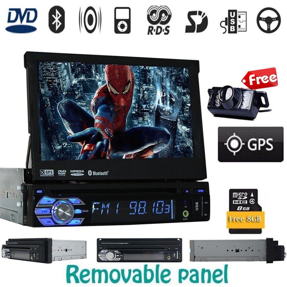 1 Din Car Audio DVD Player GPS Navigator Stereo Car autoradio 1 din GPS Navigation font