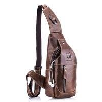 NOWE 100% Genuine Leather Crossbody Torby mężczyzna dorywczo torba Mała Marka Projektant Mężczyzna Torba Na Ramię