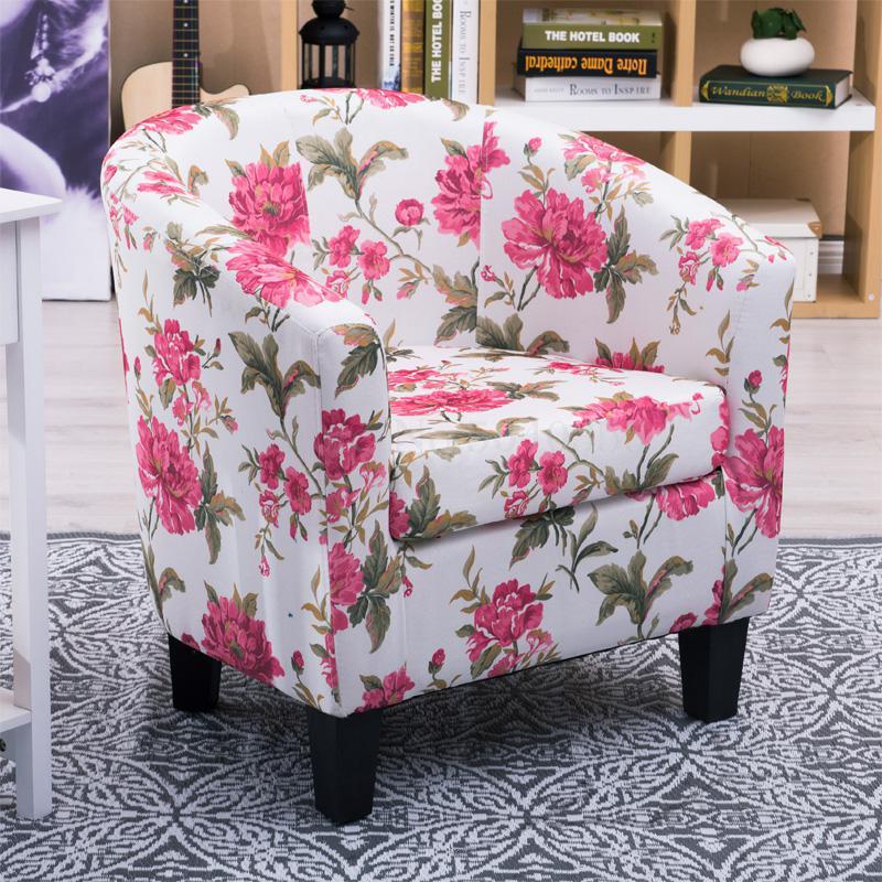 Европейский тканевая одноместная Софа стул интернет кафе кофе небольшой диван гостиничная комната кабинет компьютерный диван стул - Цвет: VIP 2