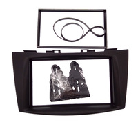 Double DIN Autostereo Adapter CD Trim Panel Car Radio Fascia for SUZUKI Swift 2012