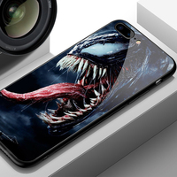 Venom Glass Style Phone Case for iPhone (12 Different Designs) 4