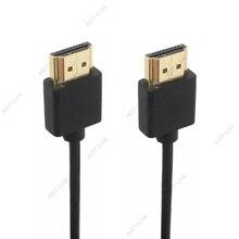 OD 3.0mm סופר רך דק מיקרו HDMI זכר ל hdmi & מיני HDMI זכר כבל 2 k 4 k hd @ 60 hz אור משקל נייד