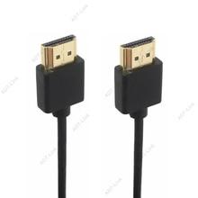 OD 3.0mm Super doux mince Micro HDMI mâle vers HDMI et Mini HDMI câble mâle 2 k 4 k hd @ 60 hz Portable léger