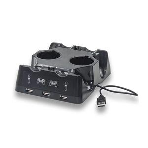 Image 4 - جهاز شحن محطة شاحن مهد شاحن يو اس بي حامل حامل ل بلاي ستيشن 4 PS4 سليم برو PS VR PS نقل الملحقات