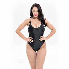 one piece swimwear sexy swimming suit women bandage bodysuit sexy beachwear strap bathing suit plus size swimsuit bathing suit FLYBAZZZ Women Plus Size One Piece Suit Swimwear Sexy Hollow Lace Up Padded Swimming Suit Retro Bodysuit Bathing Suit Beachwear