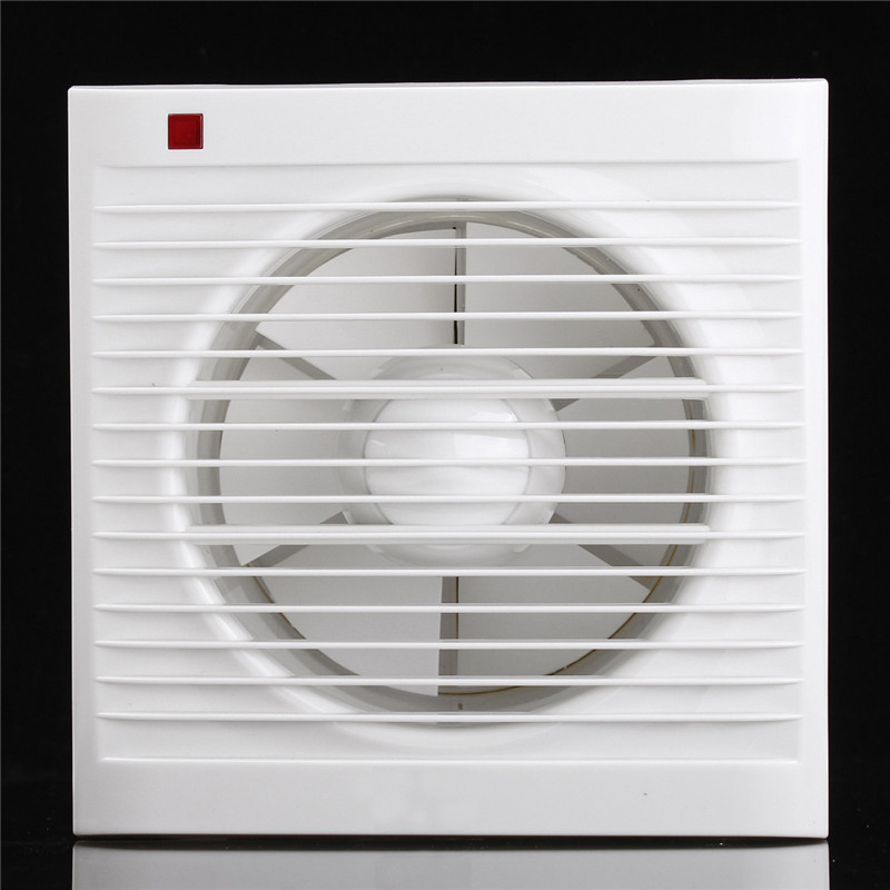 6 Inch Mini Wall Window Exhaust Fan Bathroom Kitchen Toilets Ventilation Fans