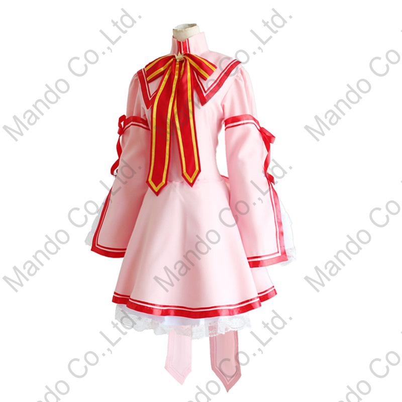Anime Rewrite Kanbe Kotori Cosplay Costume Girls Uniform Dress Women Halloween Cosplay Party 6pcs Outfit