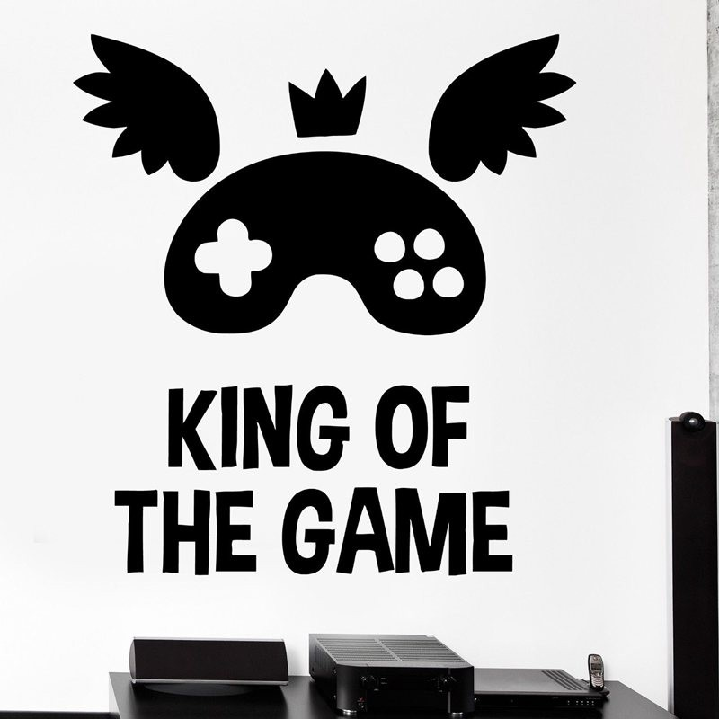 vinilo etiquetas de la pared parede decoracin mural de videojuegos etiqueta engomada juego decal juego posters