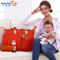 High Quality Mother Bag Designer Women Fashion Diaper Bag Multifunctional Nappy Bag for Mommy Baby Storage Mama Bags KPS321