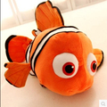 Free Shipping 23cm Finding Nemo Movie Stuffed Animal Soft Plush Toy Nemo fish Plush Doll baby toy kids gift