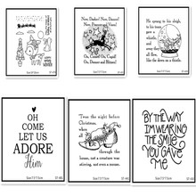 AZSG Lovely animals Clear Stamps For DIY Scrapbooking Rubber Stamp/ Seal Paper Craft Stamp Card Making