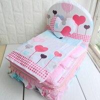 Liebhaber Hundebett Für Kleine Hunde Blau Rosa Prinzessin Kissen decke Kissen Bettwäsche-sets Für Haustiere Katzen Chihuahua Yorkie Pudel möpse