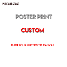 Custom Canvas Print into Painting for Modern Home Wall Art Living Room Decoration directly from factory