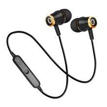 hot deal buy m64 wireless sport bluetooth earphones running headset headphones stereo earphones for iphone xr xs 6 7 plus max xiaomi