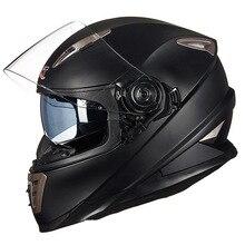 Doppia Lente del fronte pieno del casco del motociclo con sistema di bloccaggio Sheld GXT casco 999 moto moto casco