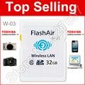 WI-FI download de vídeo foto para telefone etc!!! WI-FI Cartão De Memória 8G 16 GB 32 GB WI-FI Cartão SD FlashAir Classe 10 SDHC Cartão de Memória Flash