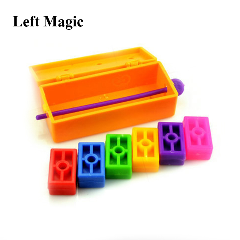 Miraculous Brick Rainbow Magic Tricks Prophecy Magic Props Comedy Gimmick AccessoriesE3113