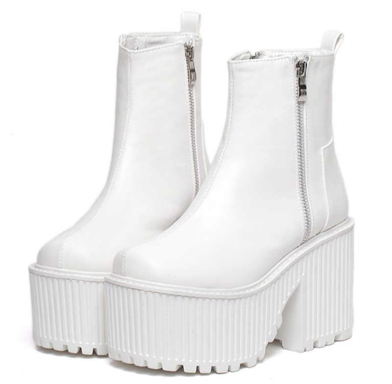 Popular White Platform Boots-Buy Cheap White Platform Boots lots ...