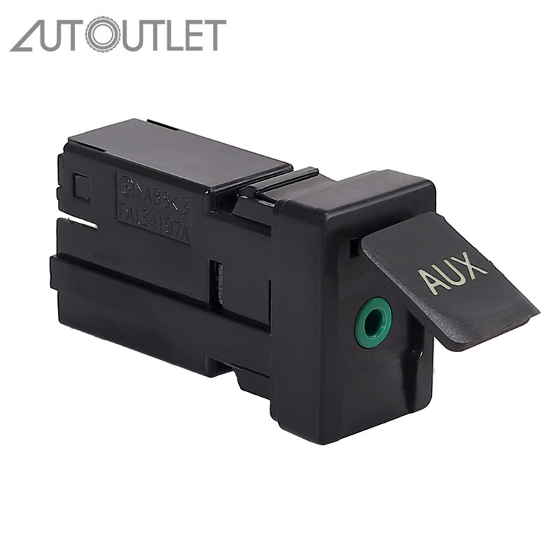 AUTOUTLET Aux Stereo Adaptor 86190-02010 8619002010 for for <font><b>Toyota</b></font> Corolla Tacoma Tundra <font><b>RAV4</b></font> image