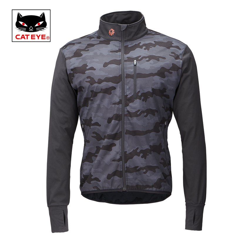 Cateye Cycling Jackets Bicycle Water Resistant Coat Windproof Keep Warm Sportswear Jacket Spring Autumn Winter Bike Clothing 2017 new high grade cycling coat windproof bike bicycle clothing men