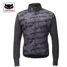 Cateye Cycling Jackets Bicycle Water Resistant Coat Windproof Keep Warm Sportswear Jacket Spring Autumn Winter Bike