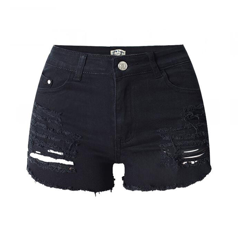Online Get Cheap Womens Black Denim Shorts -Aliexpress.com ...