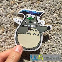 [Totoro Dach] Cartoon Auto Styling JDM Wasserdichte Graffiti Pvc-aufkleber Hellaflush Fahrrad Laptop Skatboard Gepäck Aufkleber