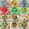 XmasT 001 Mix Colors And Shapes Christmas Glitter For Nail Art Makeup DIY Decoration And Holiday