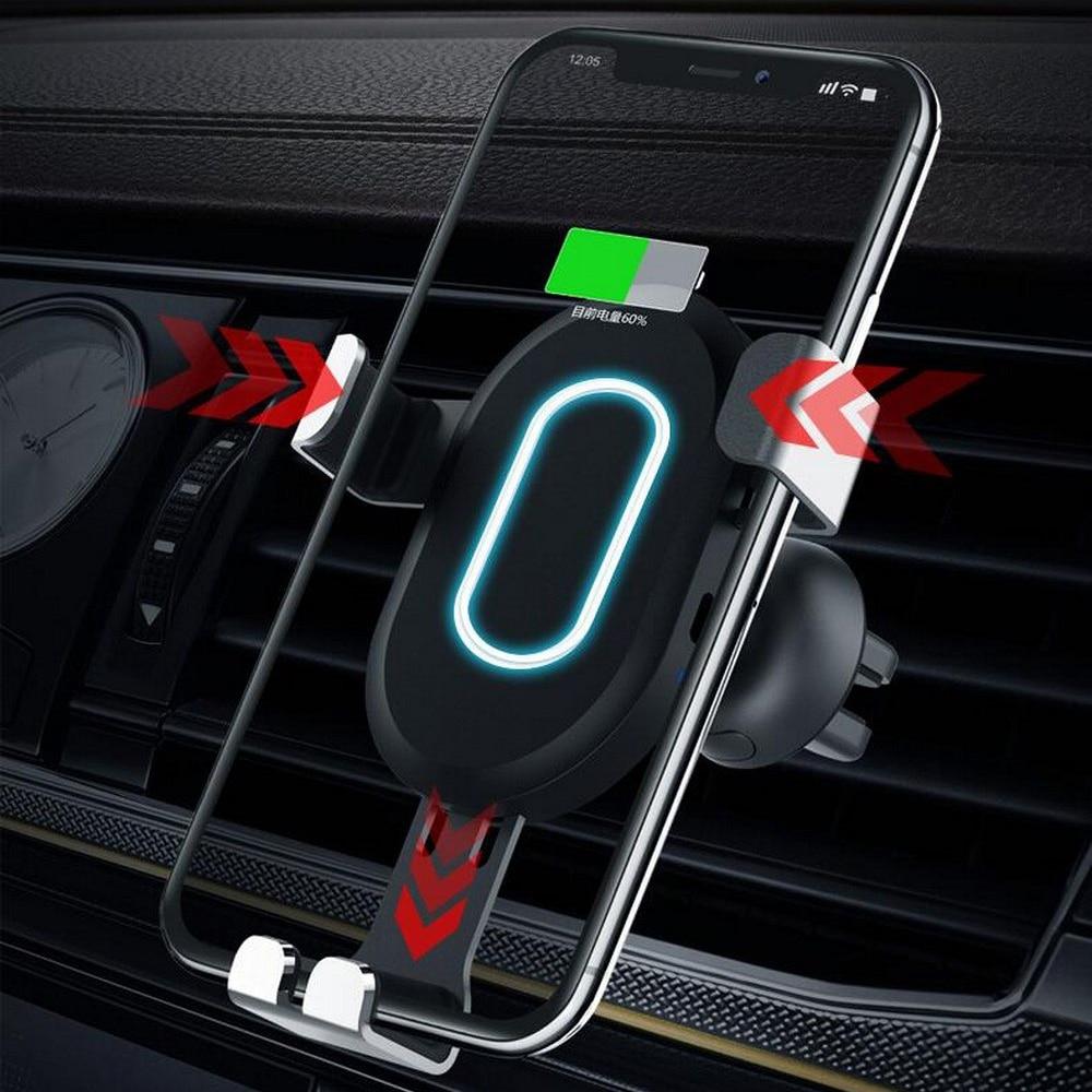 Image 2 - Беспроводной автомобиля Зарядное устройство адаптер для мобильного телефона, 8, 8 plus, x xs для samsung Galaxy S9 S8 автомобиля Зарядное устройство быстрой зарядки 3,0-in Кабели, адаптеры и разъемы from Автомобили и мотоциклы on AliExpress - 11.11_Double 11_Singles' Day