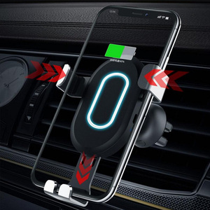 Image 2 - Wireless Car Charger Adapter For Mobile Phone 8 8 plus x xs For Samsung Galaxy S9 S8 Car Charger Quick Charge 3.0