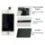 100% de garantia nenhum pixel morto substituição da tela lcd para o iphone 4s display com digitador toque assembléia tela completa