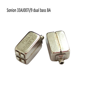 Image 2 - 2 stücke Sonion 33AJ00 7i/9 Dual Bass Fahrer Dual Woofer BA Fahrer Ausgewogene Anker Empfänger DIY IEMs Empfänger
