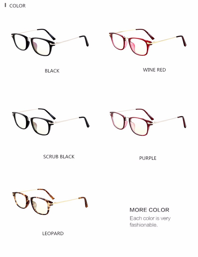 67bd65b3022 Parzin Women Eyeglasses Frames Tr 90 Optics Clear lens Reading Glasses  Brand Designer Eyewear Accessories With Case 5018