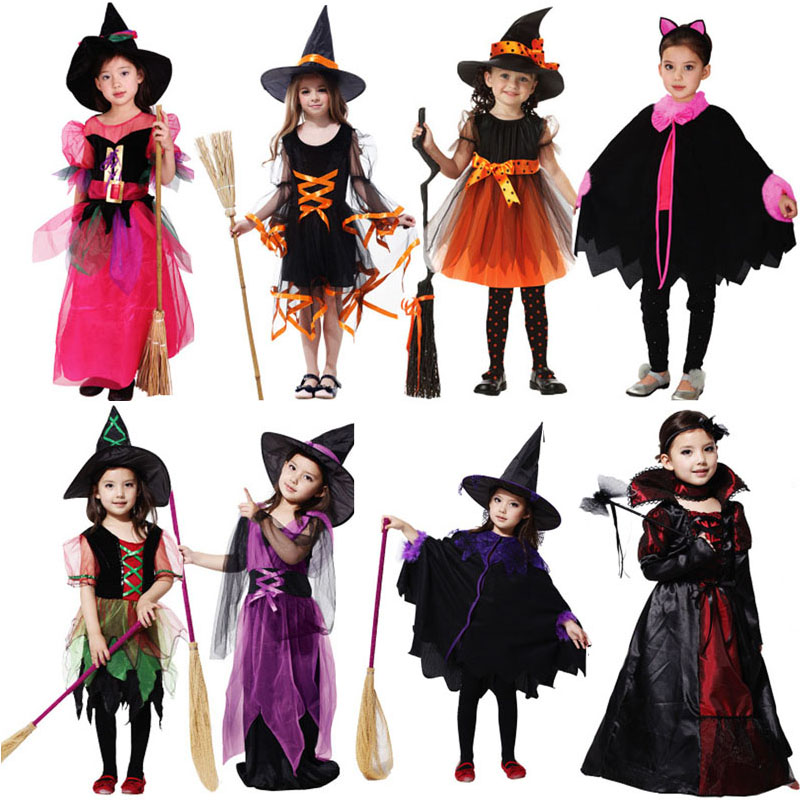 Aliexpress.com : Buy Kids Witch Devil Angel Cosplay ...