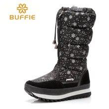 Invierno botas altas mujeres de la rodilla invierno zapato negro de tela de moda chica y señora de la felpa de piel caliente zapatos botas más el tamaño 35 a 41