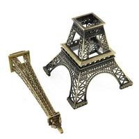 Large Size 48cm Eiffel Tower Metallic Model Crafts Vintage Bronze Color Separation Design For Home Office Decoration