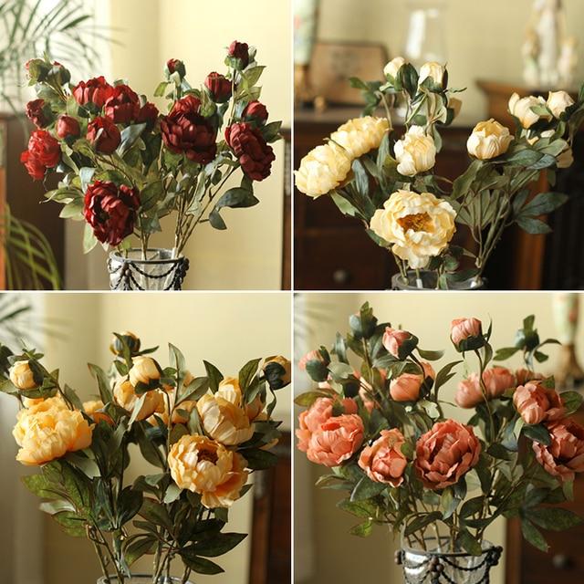 Aliexpresscom Kup Sztuczne Kwiaty Jedwabne Kwiaty Europejskiej