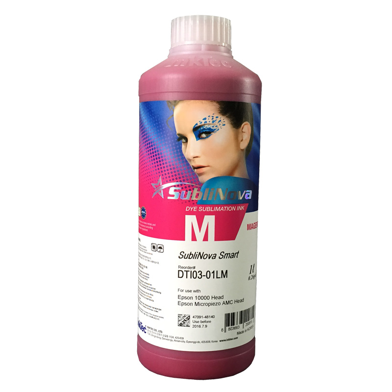 Sublimation Ink Heat Transfer Ink For EPSON Inkjet Printer (6 colorx1000ml)