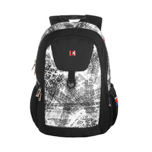 Swisswin mode teenager kanken rucksack bookbag weiß muster jungen rucksack japan koreanische leichte stilvolle daypack mochila sac