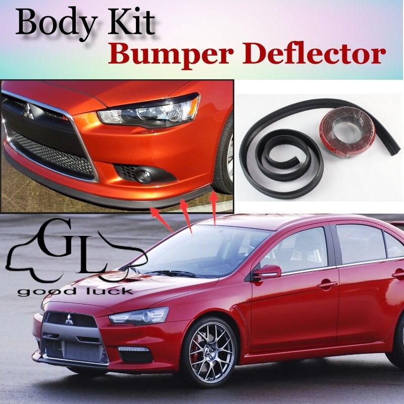 Bumper Lip Lips For Mitsubishi Lancer Evolution EVO / Car