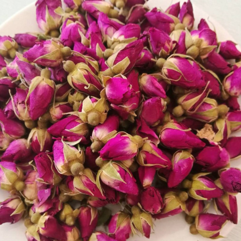 NEW Natural 1bag  250g Dried Rose Flower Rose bud Rose Girl Women gift wedding decoration-in Artificial & Dried Flowers from Home & Garden