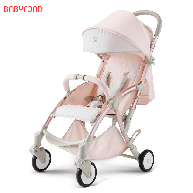 Kub Baby Stroller Portable Folding Cart Can Sit And Lie To Children Four Wheel Shock Proof Umbrella Carts new aroma ahor 3 holy war metal distortion mini analogue effect true bypass