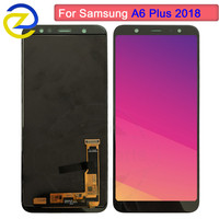 New 6.0 LCD For Samsung Galaxy A6 Plus 2018 A605 Touch Screen Digitizer Assembly replacement A6+ A605FD a6 Plus 2018 A605 lcd