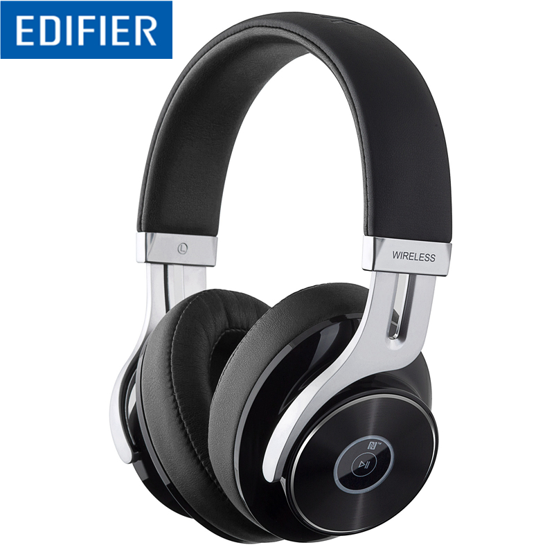 Edifier W855BT Bluetooth Headphones Over Ear Stereo Wireless Headphone with Microphone and Volume Control