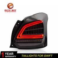 Car Styling Tail Lights Taillight case for Suzuki Swift 2017 2019 Suzuki Swift Tail Lights LED Taillghts Rear Lamp LED